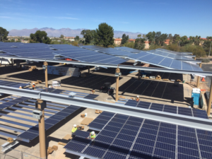 IBEW Local Union 570 Solar Panels
