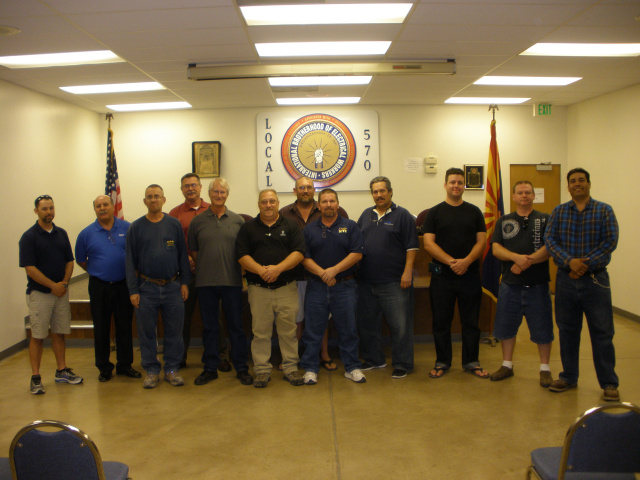 IBEW Local Union 570 Officers