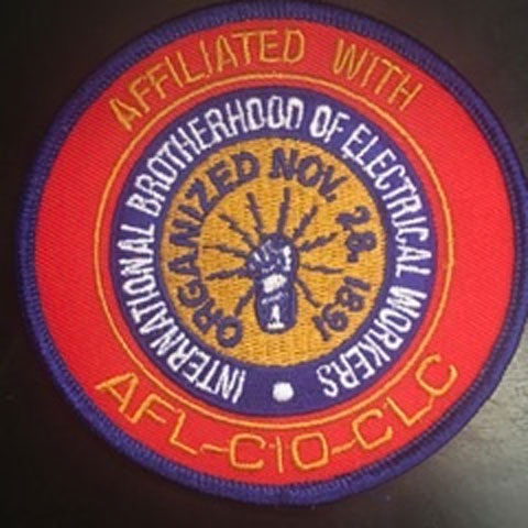 Small IBEW Patch